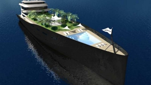 Yacht Island Design project utopia breaks the naval architectural mould | kios buku