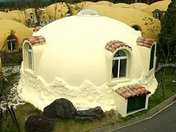 The structure anti earthquake house design from styrofoam for Earthquake resistant home designs