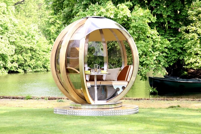 G Pod Your Futuristic Garden Lounge Or Portable Office