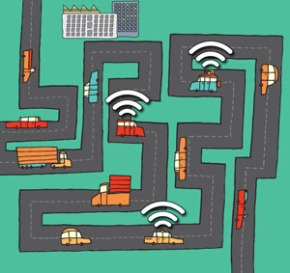 new-algorithm-lets-networks-of-Wi-Fi-connected-cars-share-a-few-expensive-links-to-the-Internet